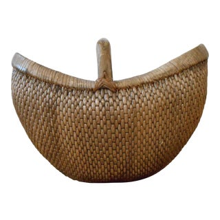 Bamboo Gathering Basket