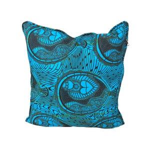 Turquoise Love Handmade Pillow