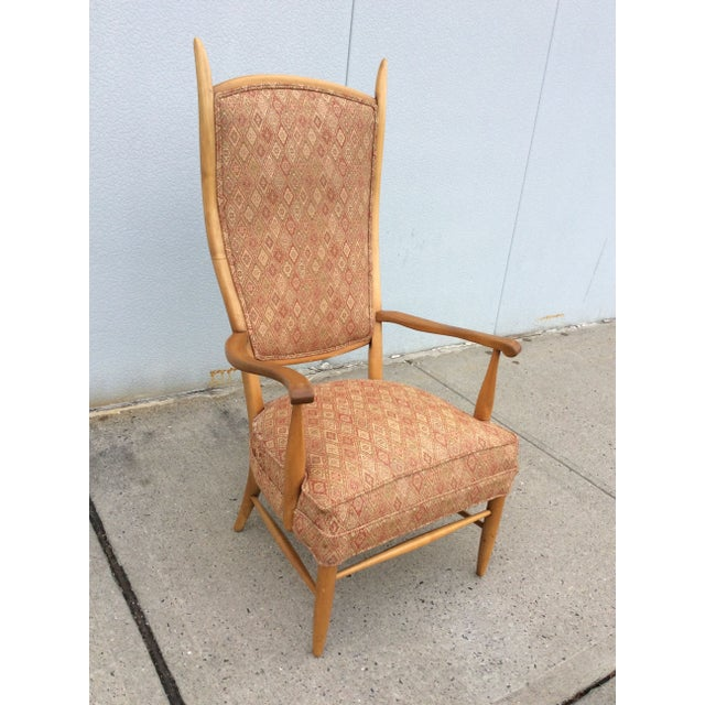 Edward Wormley High Back Lounge Chair - Image 8 of 8