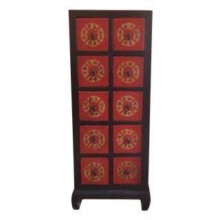Traditional Tibetan Storage Cabinet