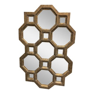 Horchow Carrara Honeycomb Wall Mirror