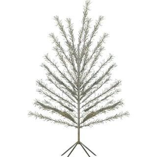 6-Foot Vintage 1960s Aluminum Christmas Tree