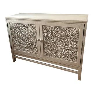 Hooker Furniture White Wood Cabinet