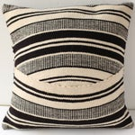 Image of Peruvian Wool Striped Pillow Case