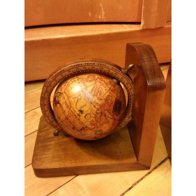 Olde World Globe Bookends - A Pair - Image 5 of 9