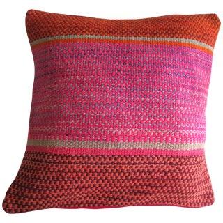 Peruvian Pillow Red/Pink