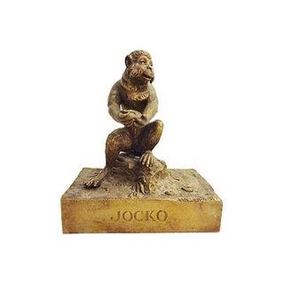 Antique Vienna Bronze of a Monkey Figure