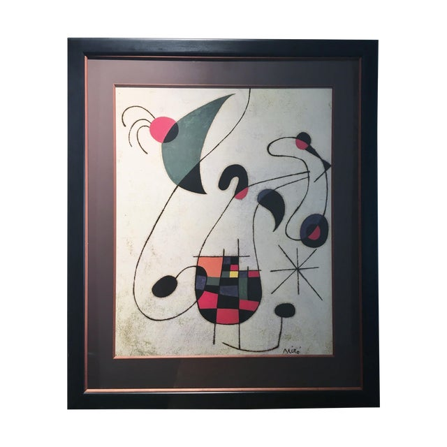 Large Miro Framed Print - Image 1 of 6