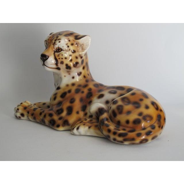 Capodimonte Ceramic Jaguar - Image 7 of 11