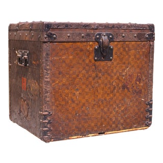 Late 1800's Louis Vuitton Monogrammed Trunk