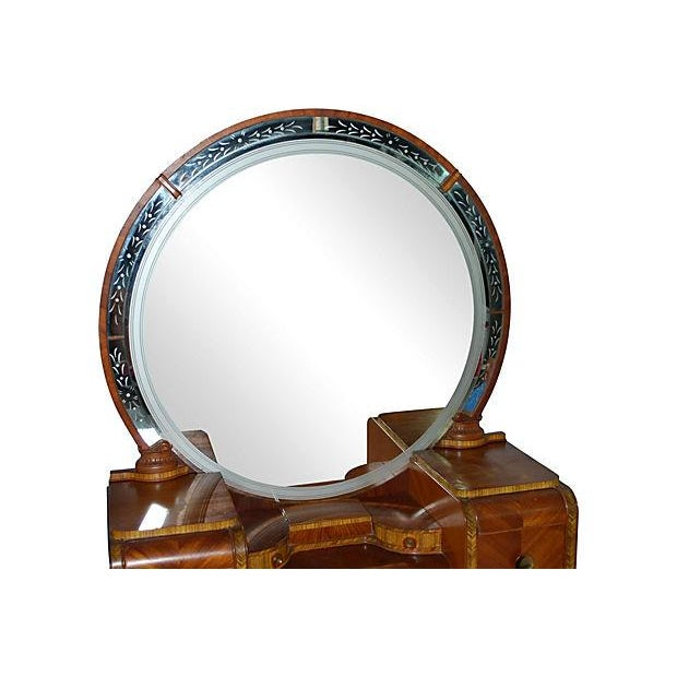 Art Deco Vanity and Bench - Image 3 of 4