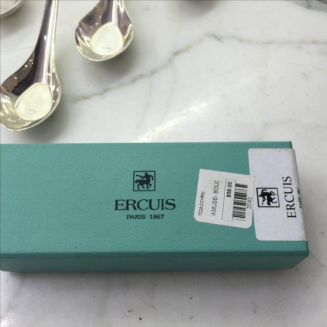 Image of Ercuis Silver Amuse Bouche Spoon