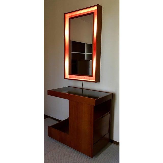 Pedersen & Hansen Danish Modern Mirror - Image 10 of 11
