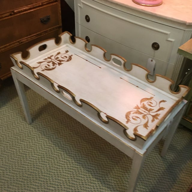 Amy Howard Painted Coffee Table - Image 4 of 4