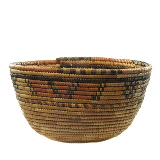 Natural African Woven Basket