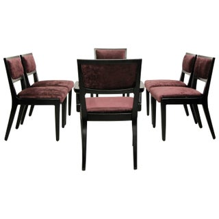 Wormley Mid-Century Dining Chairs - Set of 6