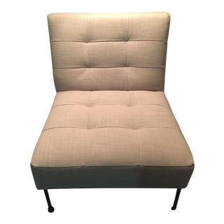 West Elm Oswald Tufted Slipper Chair