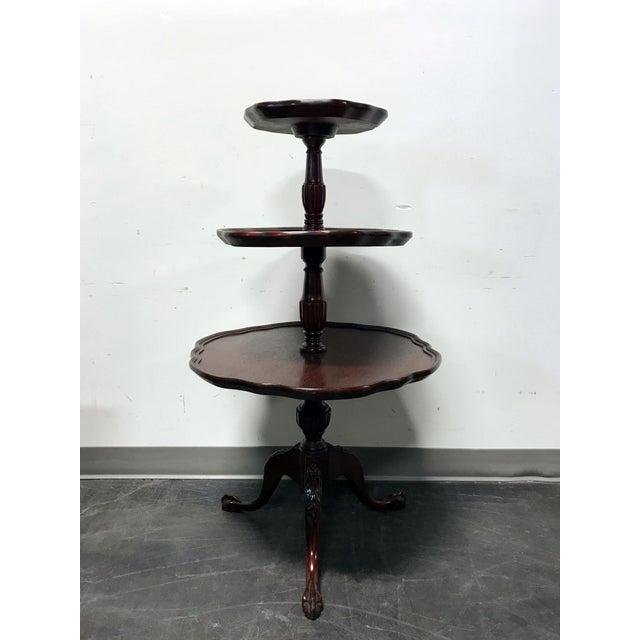 Vintage Mersman 3-Tier Mahogany Table - Image 2 of 10
