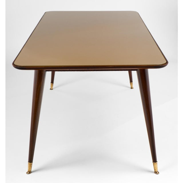Italian Mid-Century Modern Dining Table - Image 7 of 11