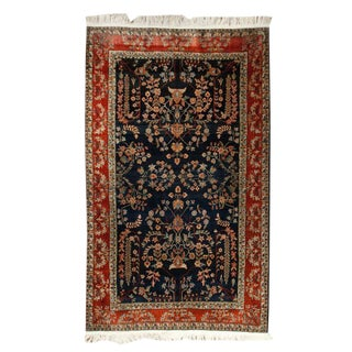 Antique Persian Mohajeran Sarouk Rug