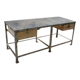 Very Large Iron Factory Table