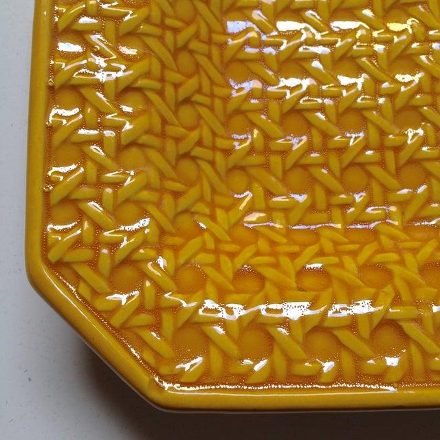 Yellow Italica Ars Cane Ashtray - Image 7 of 7