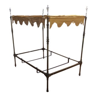 Four Poster Brass Canopy Bed