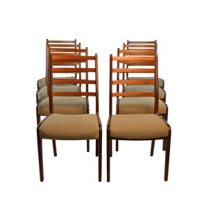 G Plan Teak Dining Chairs - Set of 8