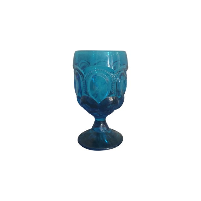 Aqua Kings Crown Glasses - Set of 12 - Image 1 of 8