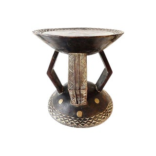 Old African Baule Stool