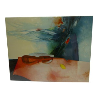 Limited Edition Signed Print Sonate Claude Gaveau