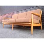 Image of Conant Ball Mid-Century Pink Sofa