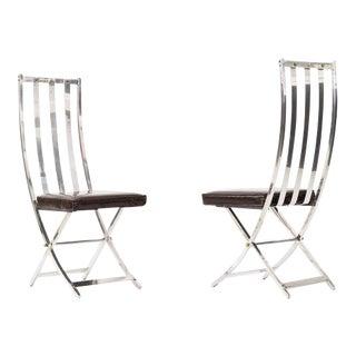 Pair of Maison Jansen Chairs
