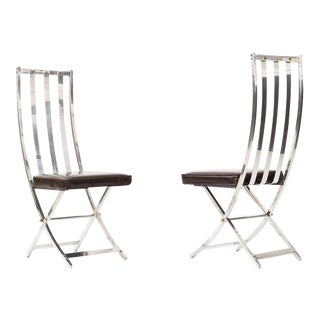 Pair of Maison Jansen Chairs