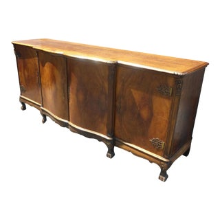Vintage French Provincial Sideboard Buffet