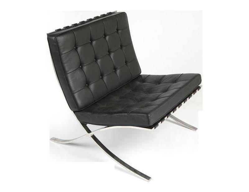 Van Der Rohe Barcelona Chair knoll barcelona chairludwig mies van der rohe | chairish