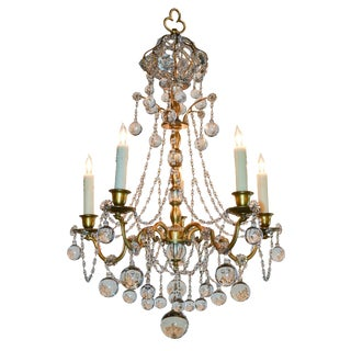 Fine Quality French Beaded Chandelier