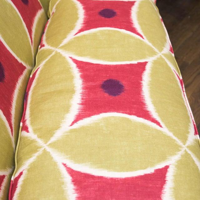 Custom Upholstered Down-Filled Loveseat - Image 3 of 9