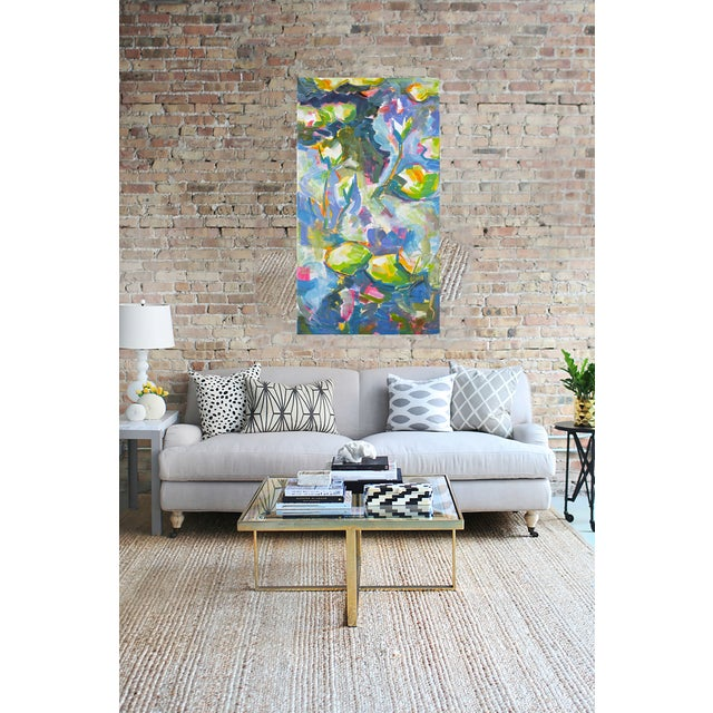 """Image of 54""""x30"""" Large Original Oil on Canvas Trixie Pitts"""