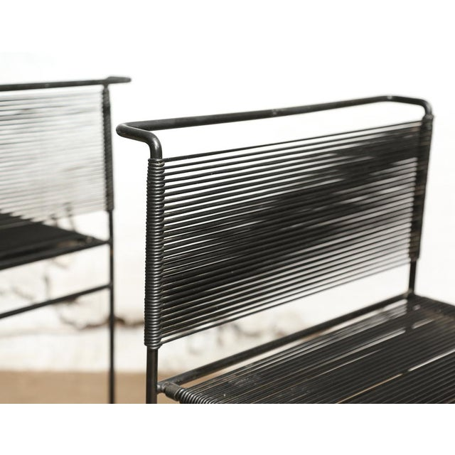 "Giandomenico Belotti for Fly Line ""Spaghetti"" Bar Stools - A Pair - Image 5 of 7"