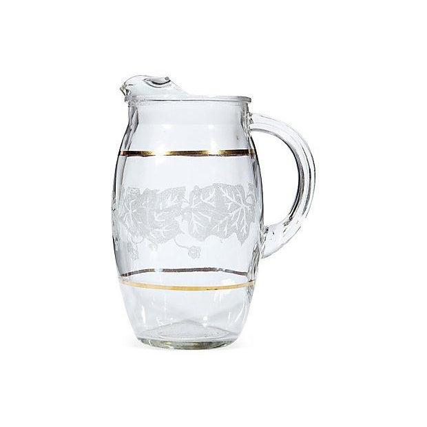 Gilt-Banded Ivy Beverage Set - Set of 5 - Image 2 of 3