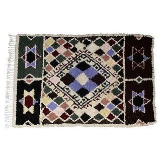Moroccan Azilal Rug - 3′5″ × 5′6″