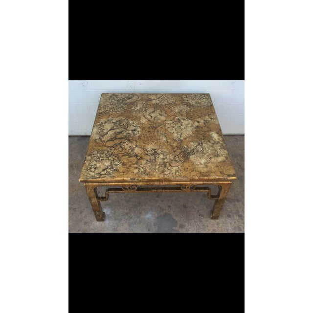 Image of Michael Taylor for Baker Gold Coffee Table