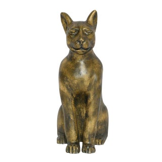 Sarreid Ltd Cast Iron Sitting Cat Doorstop