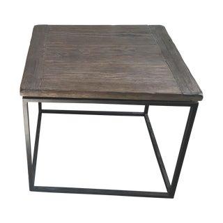 Rustic Industrial Side Table