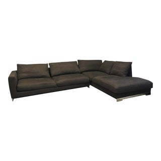 Molteni Dark Brown Sectional