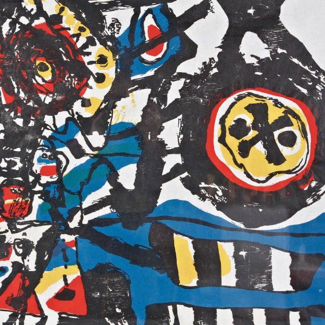 """J. Diedren """"Kinderen Tussen Het Blaw"""" Lithography, 1965 - Image 3 of 10"""