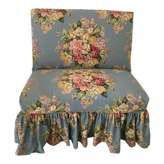 Quatrine Slipcovered Bench