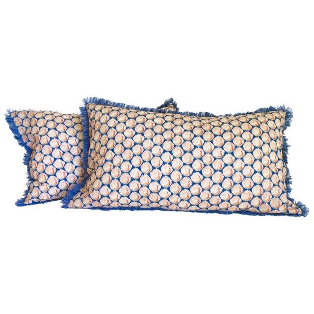 Liberty of London Lumbar Pillows - Pair - Image 1 of 6