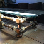 Image of Sculptural Coffee Table Kelly Wearstler Style